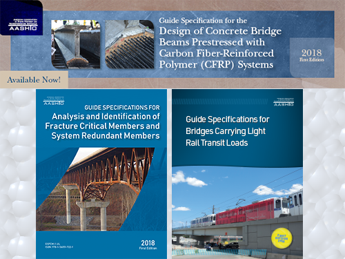 AASHTO Releases Three New Guide Specifications for Bridges