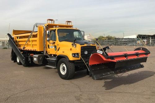 Arizona DOT Deploys 25 New 'High-Tech' Snow Plow Trucks