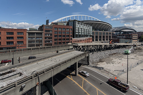 WSDOT Works to Reclaim Land Occupied by Alaskan Way Viaduct